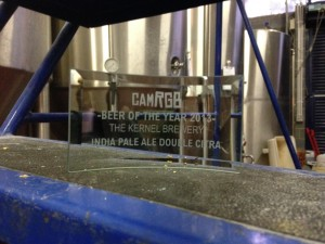 Kernel's 2nd CAMRGB award making itself at home.