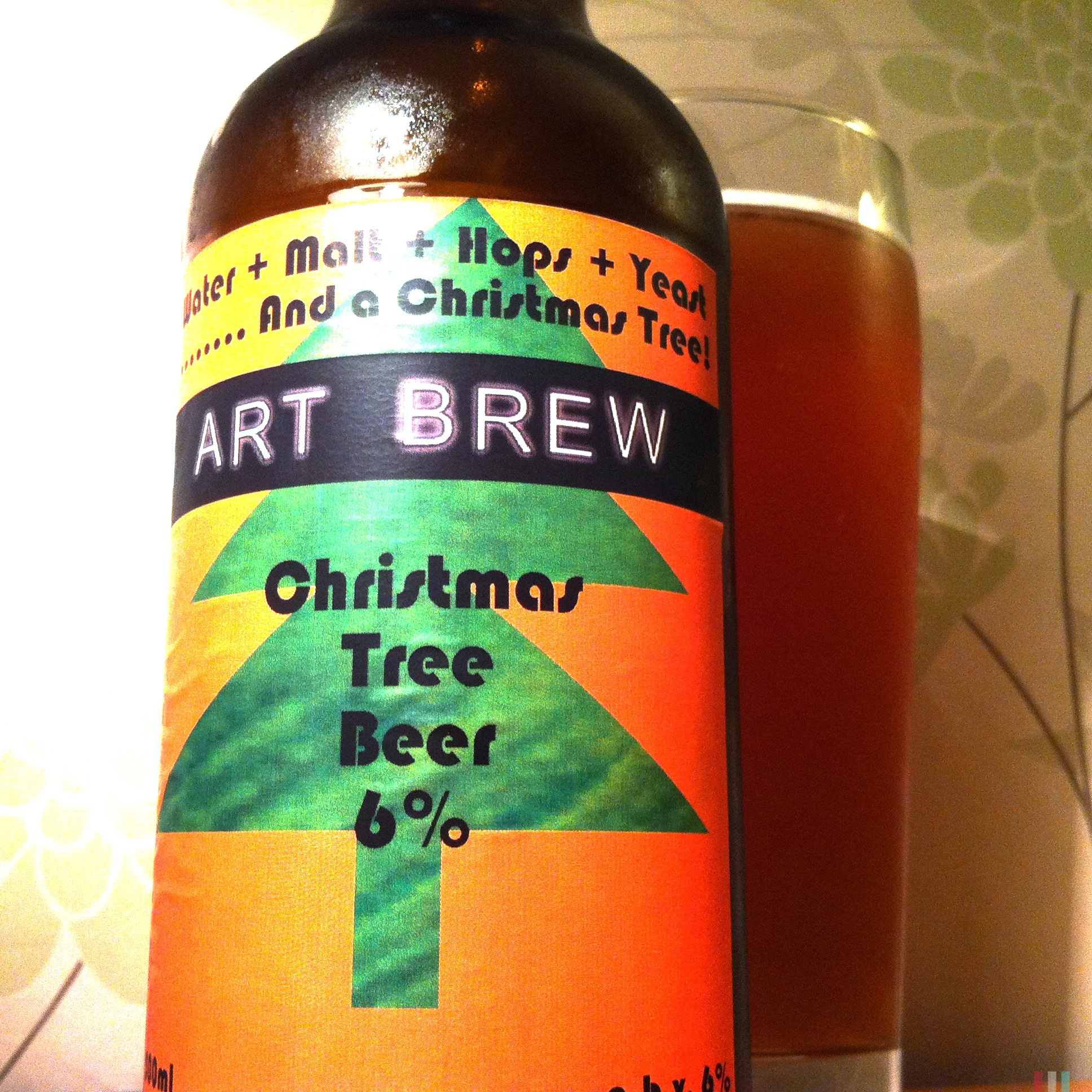 Art Brew Christmas Tree Beer (6%) - 1248.0KB