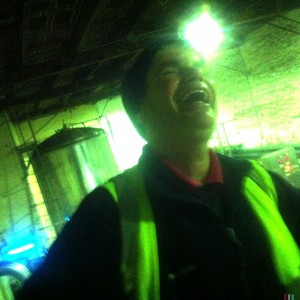 Pete's laughter as we worked summed up the overall feel of the brewery.