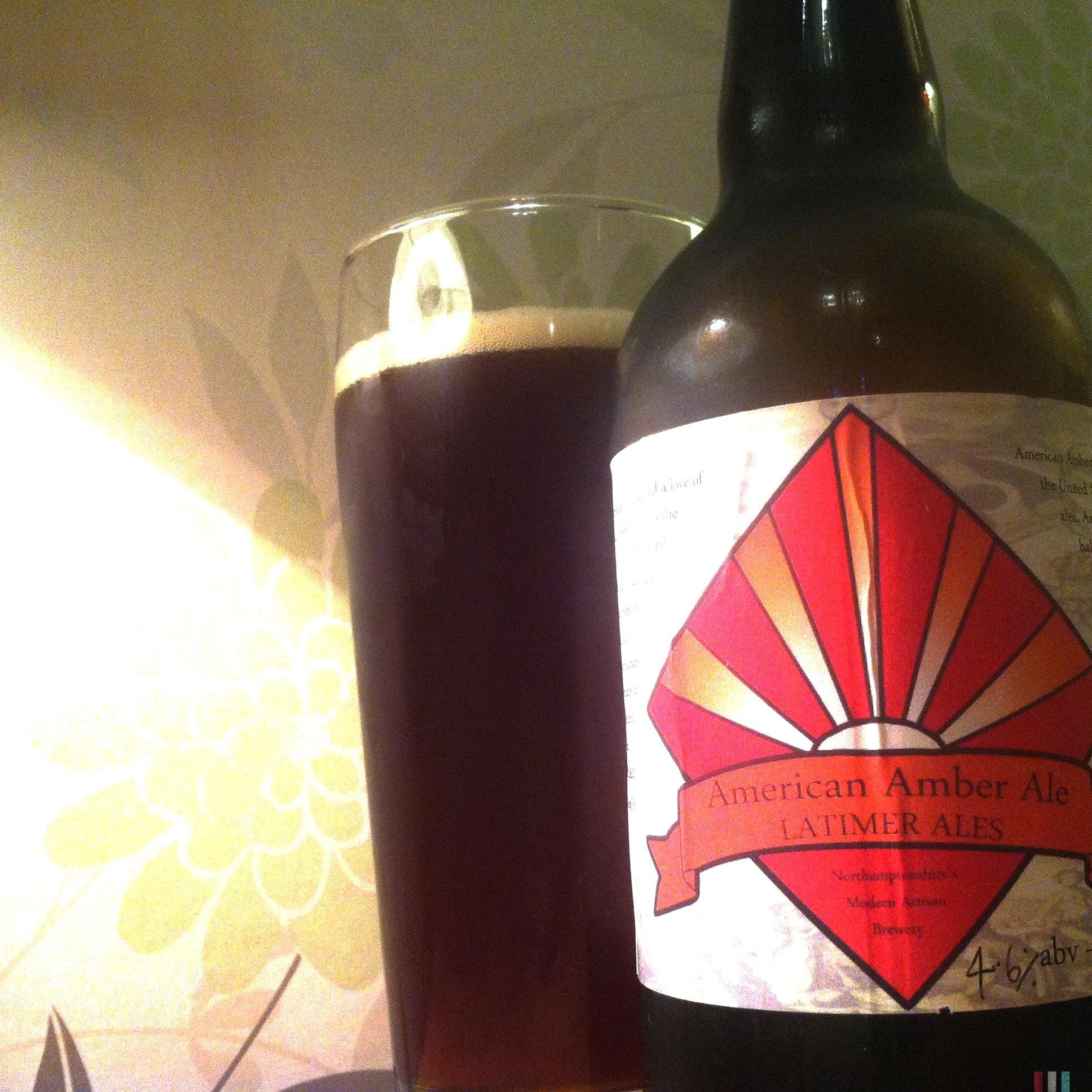 Latimer Ales American Amber Ale (4.6%) | CAMRGB