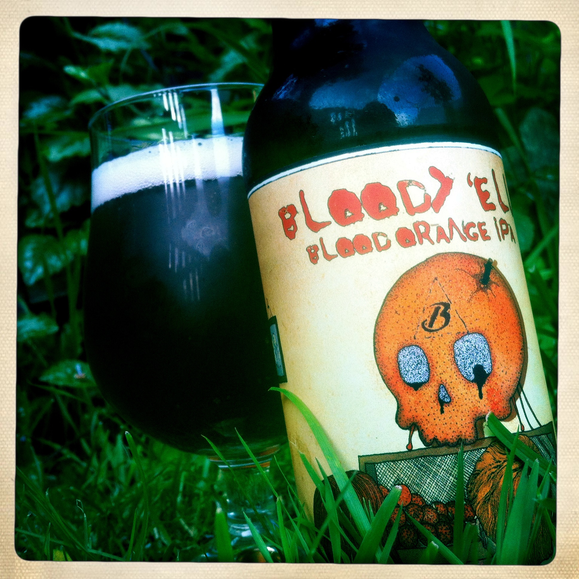 Bloody 'ell is yet another beautifully dressed beer from Beavertown.