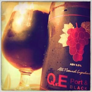 QE Port & Wine Black Beer