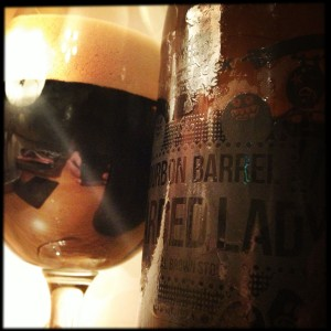 Bourbon Barrel Bearded Lady
