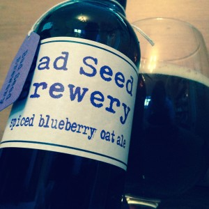 Spiced Blueberry Oat Ale