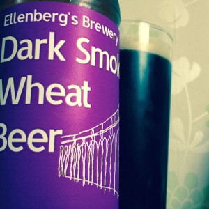 Dark Smoky Wheat Beer