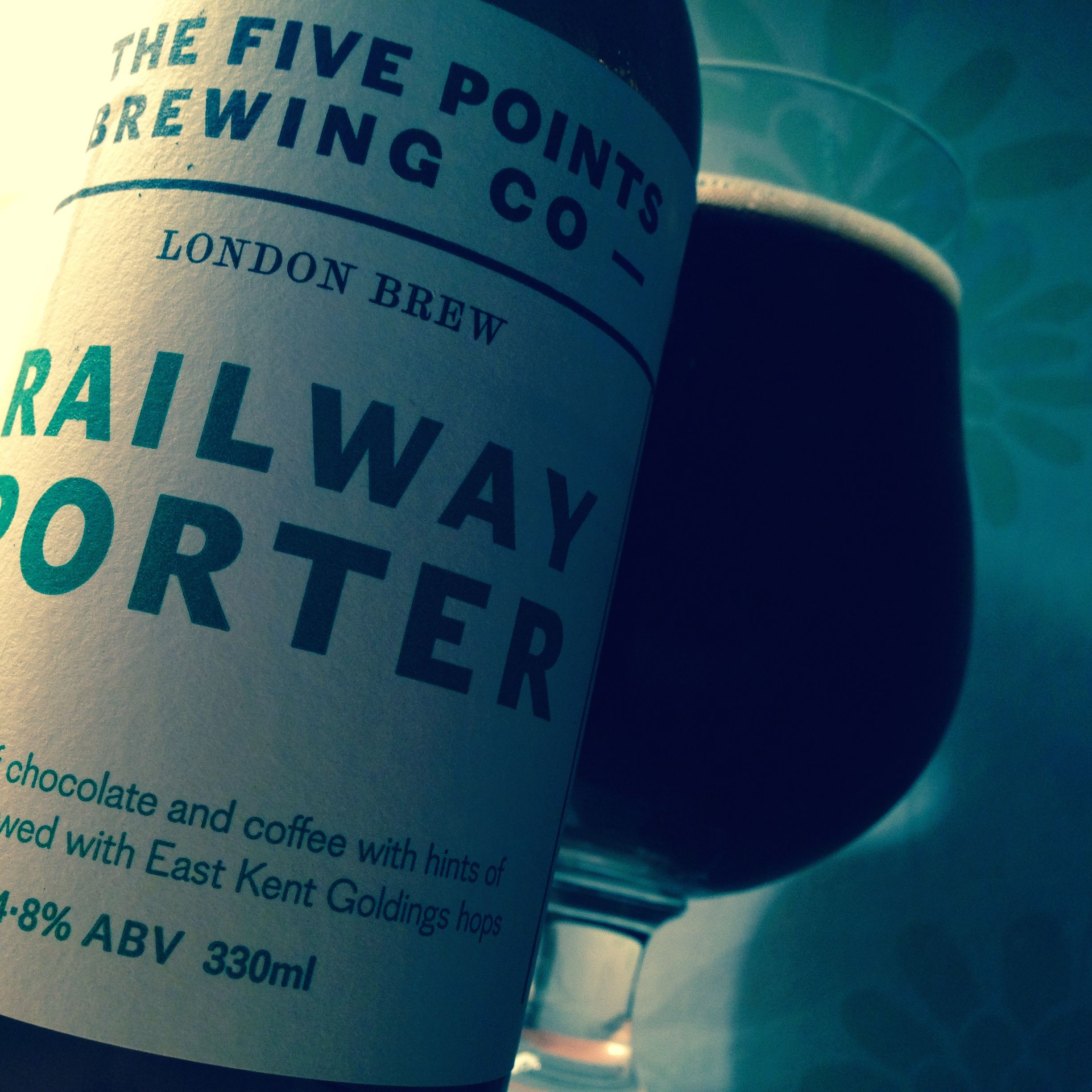 The five points brewing co railway porter 4 8 camrgb for Porte 5 points bloquee