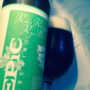 Rio's Rompin' Rye Beer
