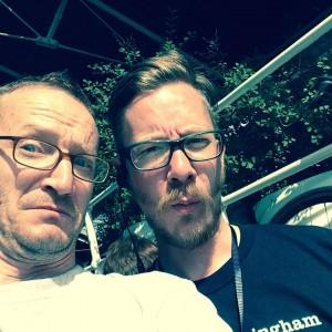 Selfie In The Sunshine With Dan The Organiser