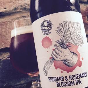 Rhubarb & Rosemary Blossom IPA - 1